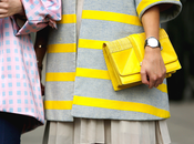 Street...Yellow bags...For vogue.it