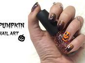 Pumpkin nail Nail last minute Halloween