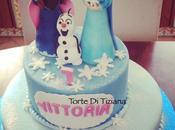 Cake frozen elsa