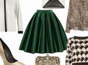 wear green midi skirt