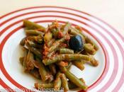 Fagiolini sugo olive