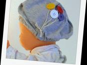 Refashioned Baby Beanie Svelto cappellino bebè