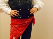carnevale all'insegna riuso creativo! little pirate girl costume