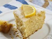 Plumcake farina mandorle glassa limone with almond flour lemon glaze