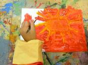 Disegnare sole laboratorio Arte Creatività...