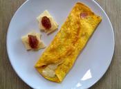 Omelette capocollo fontina