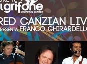 Canzian live Centro commerciale Grifone Bassano Grappa, sabato novembre 2014.