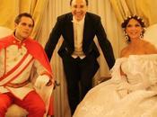 Matilde Brandi Attilio Fontana protagonisti fiabesco Gran Ballo Sissi della Compagnia Nazionale Danza Storica