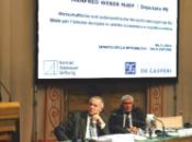 """Manfred Weber stato giorni Roma. tenta ridurre """"strappo"""" luglio Italia Germania?"""