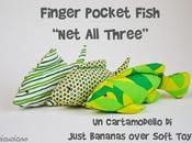 Finger Pocket Fish: cartamodello pesce