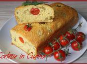 Cake salato pomodorini olive verdi carciofini