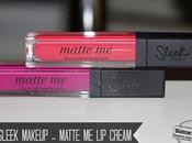 Sleek Makeup Matte Cream (Fandango Purple, Party Pink)
