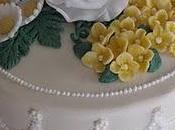Torta rose margherite