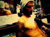 Foto giorno dicembre 2011 l'ultimo tatuaggio beckham