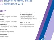 """ruolo della famiglia nella formazione cittadino responsabile"""" Convenzione dell' diritti bambini Convegno Parlamento Europeo Bruxelles WRWPI"""