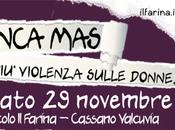 """Sabato Circolo Farina"""" """"Nunca Más! violenza sulle donne"""", spunti riflessione sradicare problema"""