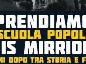 Assemblea pubblica: Riprendiamoci scuola popolare Mirrionis. anni dopo storia futuro. Mercoledì Dicembre 17.30