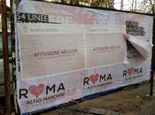 Alfio Marchini stecca prima. Vuole fare sgambetto all'amministrazione, viene pizzicato decine manifesti abusivi. stasera Iene...