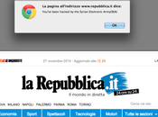 Repubblica.it, sito hackerato (ah… banner)