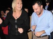 Marine Gianburrasca Salvini ballano discoteca l'Inno Matteo spopola anche Ticinese nella movida bella