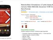 Offerta Cyber Monday Amazon: Motorola Moto 2013 scontato euro