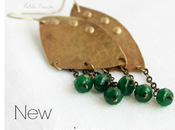 boho tribal earrings {Spirit Earth collection}