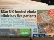 L'ospedale l'Ebola appena costruito ancora vuoto; dov'è l'epidemia?