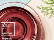Wall Street Journal annunciato colore dell'anno 2015 sarà Pantone Marsala!