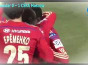 Kuban Krasnodar-Cska Mosca 0-1, video highlights