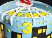 Torta uomo ragno bimbo: spiderman cake