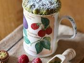 Torta tazza lamponi matcha Raspberry Matcha Cake