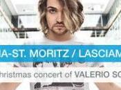 """Valerio Scanu concerto Natale Pontresina St.Moritz dicembre 2014 """"It's X-mas Day"""" esclusiva nelle edicole"""