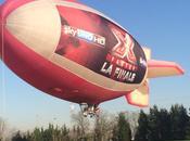 Febbre finale #XF8, dirigibile sorvola Cielo Milano (con foto)