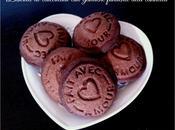 Biscotti cioccolato ganache fondente alla cannella