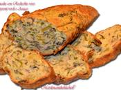 Plumcake radicchio rosso, peperoni verdi asiago (con farina integrale)