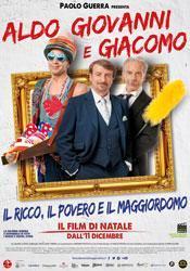 """Recensione film ricco, povero maggiordomo"""" nuova commedia Aldo Giovanni Giacomo"""