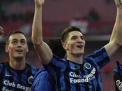 Jupiler League: Club Brugge vince Liegi mantiene vetta. L'Anderlecht segue scia battendo l'Oostende