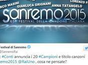 #Sanremo2015, festival giovani: tutti cantanti gara