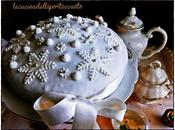 Torta Cristalli Neve Cake Snow Crystals