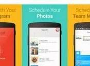 TakeOff: Android programmare pubblicazioni Instagram