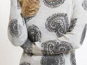 Lace heart print