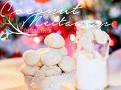 Coconut meltaways Christmas edition
