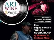 Martedi' 2014, Moses live club Napoli Natale Wine Vinyl Beppe Blues Hell`s Cobra Band.