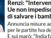 così basso populismo Renzi. Quest'uomo disperato