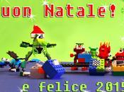 Cartolina natale Lego