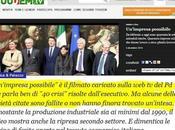 """Matteo Renzi, professione """"Salvatore d'Aziende"""""""