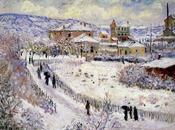 Inverni arte: natura innevata
