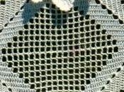 Lavori l'uncinetto: Copriletto quadrati roselline