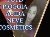 Fotd pioggia acida neve cosmetics