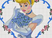 Grande raccolta personaggi Disney punto croce